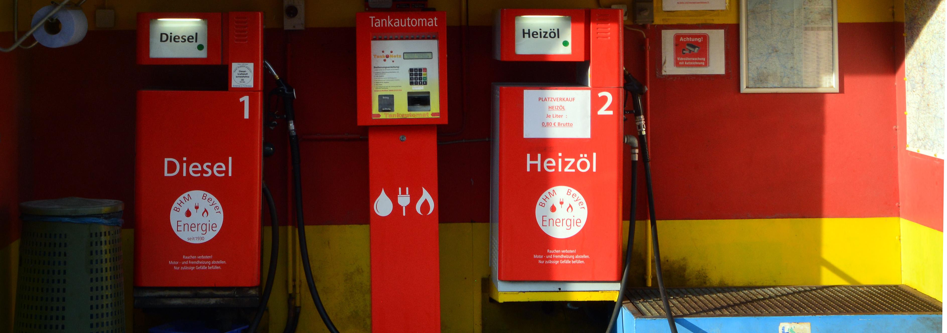 BHM Beyer Energieversorger Berlin Tanksäulen